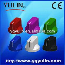 YL-1041 round green twist lock plastic rotary stainless steel drawer knob