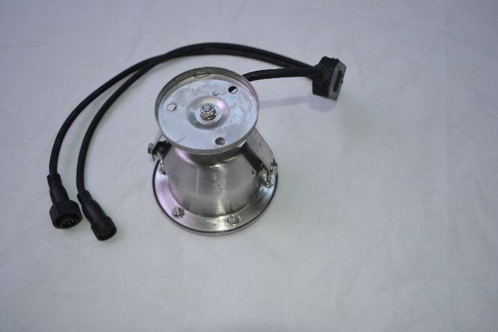 24v stainless steel underwater light IP68 RGB 3in1 by dmx 3years warranty