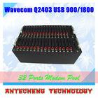 32 Ports GSM/GPRS Modem Pool Wavecom Q2403 Industrail Chipset For Enterprise