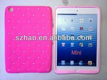 New Diamond Star silicone back case cover For Ipad mini