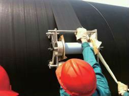 High adhesion PE asphalt sealant tape