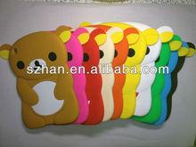 3D Rilakkuma Bear Cute Soft Silicone Case Cover For Ipad mini