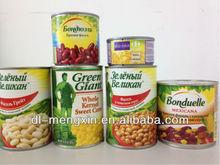Canned Vacuum Pacing Sweet Corn kernels 2650ml