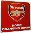 Arsenal Home Changing room Metal signs