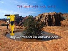 YT24 inner pipe dia 19mm pneumatic leg rock drill
