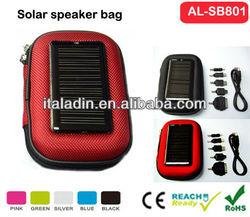AL-SB801 Portable speaker solar bag/mobile phone chargers