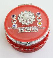 Red jewelry box 2013 decorative gift