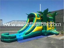 vivid design best quality sea inflatable slide