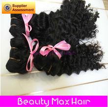 BeautymaxHair 5A Grade Remy Hair Wet Wavy Wholesale Brazilian Deep Curl Hair