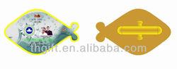 Custom printing logo Epoxy dome cuff links metal