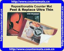 Repositionable Counter Mat
