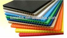 PP plastic, Corrugated plastic sheet