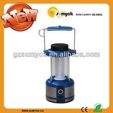 Portable led solar lantern & solar led lantern with big power solar panel