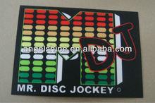 sound active el panel for t-shirt with DJ equalizer