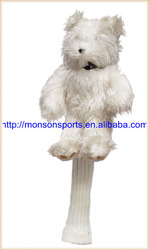 new design custom animal knitted golf head cover for driver