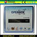 Meilleure vente de openbox x4 soutien cccam, newcamd, mgcamd, biss, patch et dongle