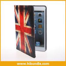 Retro British UK Flag Leather Case for ipad mini