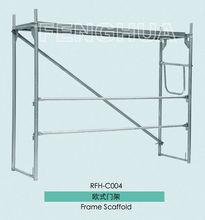 Frame type scaffolding