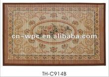 bamboo carpet bath