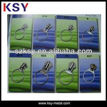 Custom zipper slider with ring pull