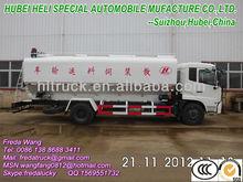 20000L 3 department Electrical Auger Bulk grain Truck for chicken,cattle,pig poultry farm
