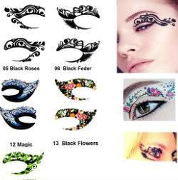 hot sale beautiful eye tattoo with high quality