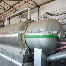 Tenglong water cooling pyrolysis waste tyre to furnace oil