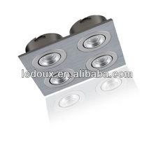 High quality CREE LED 4w Square china cabinet light