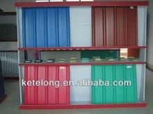 carbon fiber upvc roofing sheet 3 layer