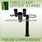 Desktop Salon Appliance Holder Power Outlet Hair Dryer Curling Flat Iron Beauty