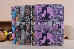Cartoon Bear Leather Case for ipad mini