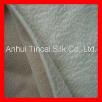 Polyester Sherpa Bonded Fleece Fabric for Jacket/Blanket