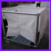 foldable metal bin boxes