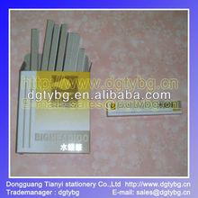 Silver color 100pcs/box, Metal pipe Silver refill pen-36