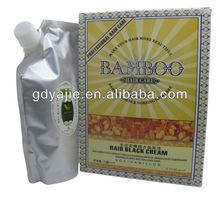Herbal hair black color cream fashion fair cream free hair dye sample 500ml*2