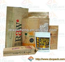 High Quality Heal Sealed Brown Coffee Bag Guangzhou Manufacture