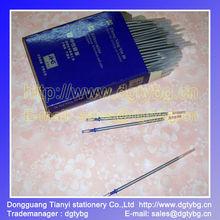 JHG plastic tub metal nib silver refill pen