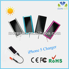 Small size 1200mAh solar panel li battery charger for hp laptop