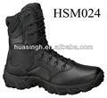Clásico negro de cuero de grano completo Magnum botas militares superventas 2013