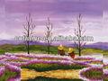 Campo cenário pintura da lona pintura da lona KXPC04350100