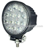 IP67 42W high intensity led light car,led work light for off road car,SUV,Jeep etc