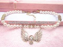 skull wing pet accessory