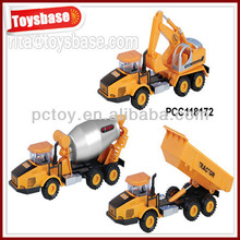 1:87 scale pull back metal tractor toy