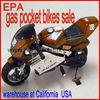gas pocket bikes sale EPA warehouse at California (HDGS-801)