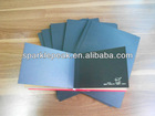 Recycle pulp with both side 30gsm wood pulp surface black paper