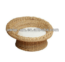 Best selling round shaped banana leaf pet furniture for cats