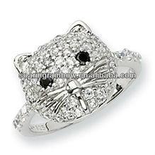 cat design ring
