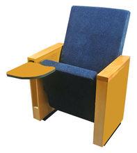 wooden auditorium theater chair