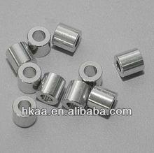 custom machining small nickel plated brass round spacer for bike