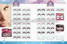 wholesale eyelashes bulk eyelashes 2012 popular synthetic eyelashes